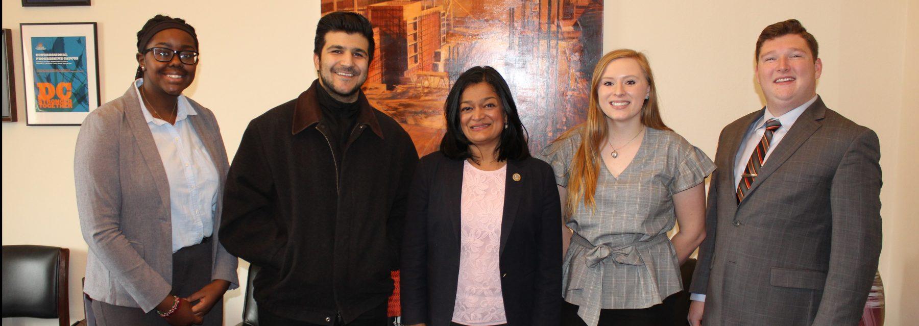 Internships - Congresswoman Pramila Jayapal